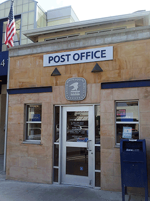 The Assistance League Of San Pedro all volunteer Post office.
