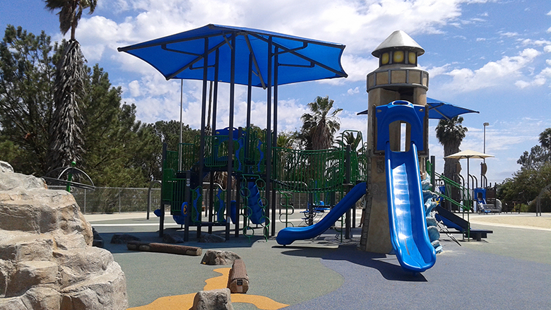 Bogdanovich Recreation Center Playground Equipment