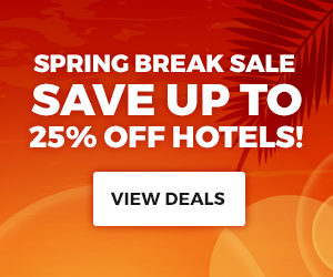 Spring Break Sale Save Up To 25% Off Hotels