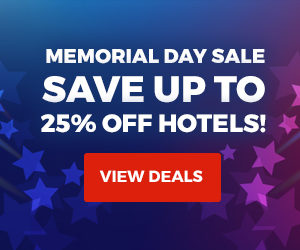 Memorial Day Sale Save up to 25% off hotels. View details