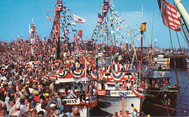 Annual Fishermen's Fiesta, San Pedro, Calif.