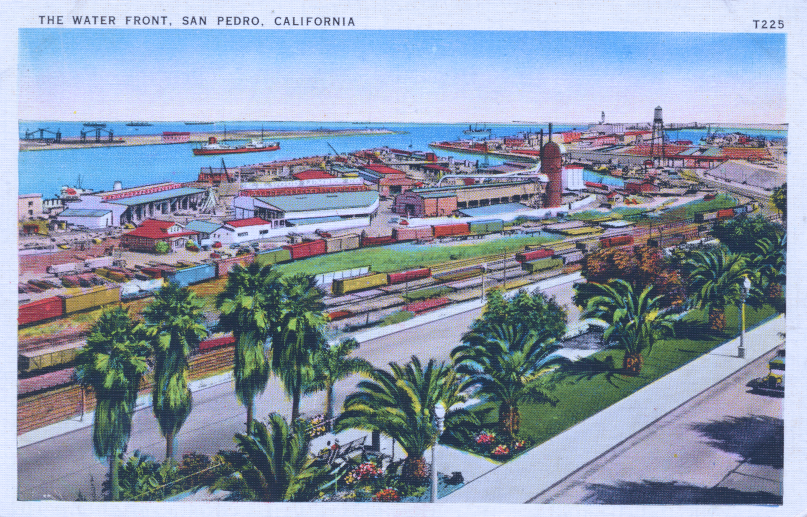The Water Front San Pedro California