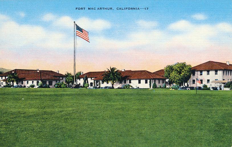 Fort Mac Arthur, California