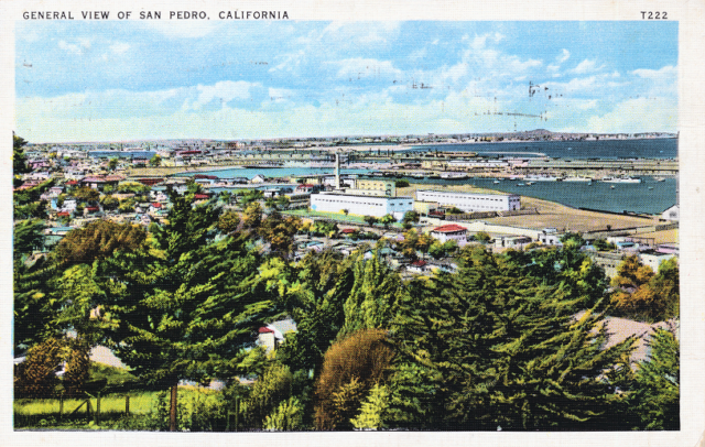 General View of San Pedro, California
