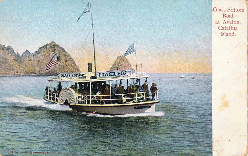 Glass Bottom Boat at Avalon, Catalina Island
