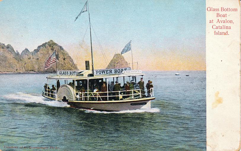 Glass Bottom Boat at Avalon, Catalina Island