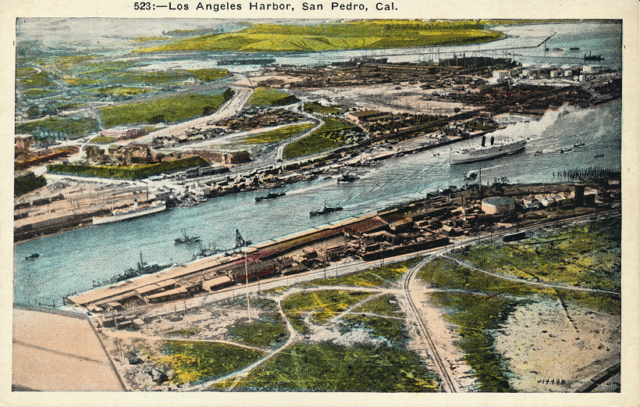Los Angeles Harbor, San Pedro, Cal.