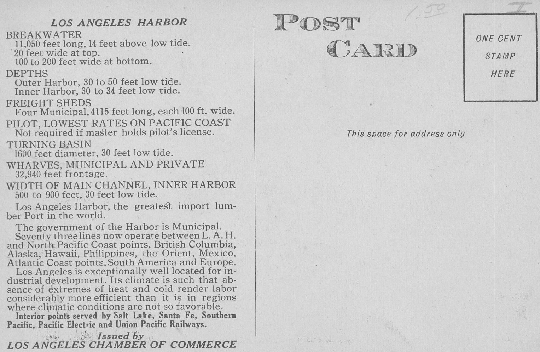 Los Angeles Harbor Front