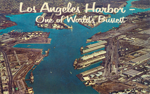 Los Angeles Harbor - One of the World's Busiest