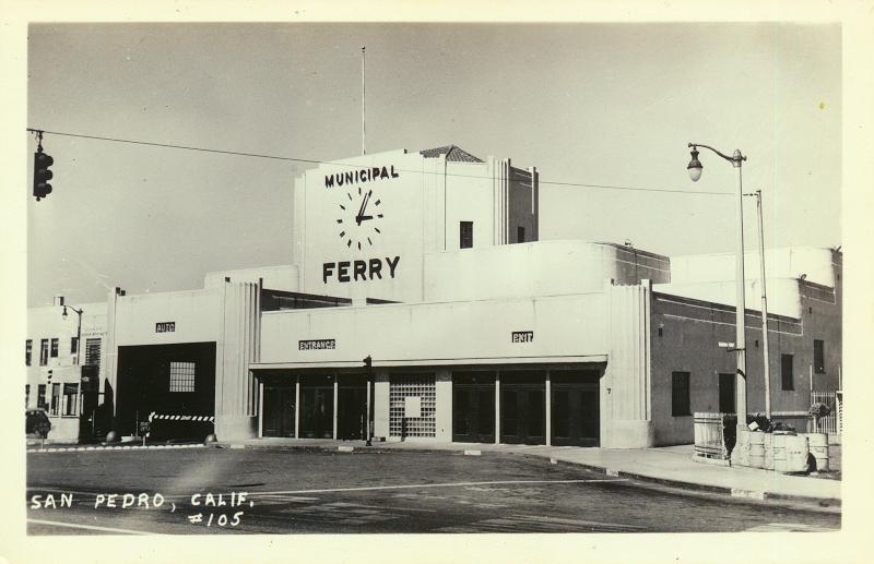 Municipal Ferry Building San Pedro