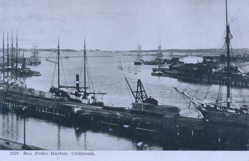 San Pedro Harbor, California