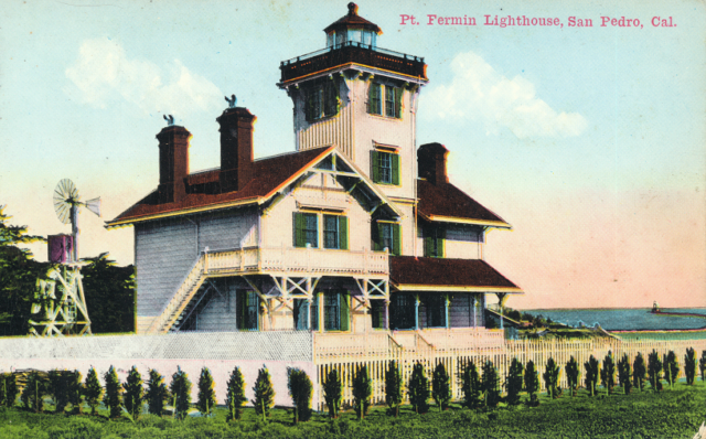 Point Fermin Lighthouse, San Pedro, Cal.