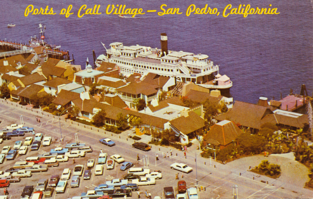 Ports O' Call Village San Pedro. Ferry Sierra Nevada