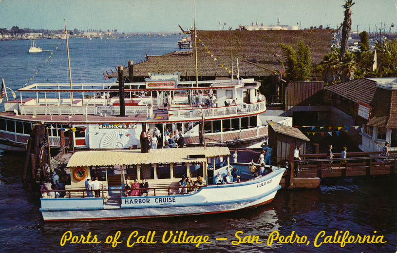 Ports of Call Harbor Cruise San Pedro, California