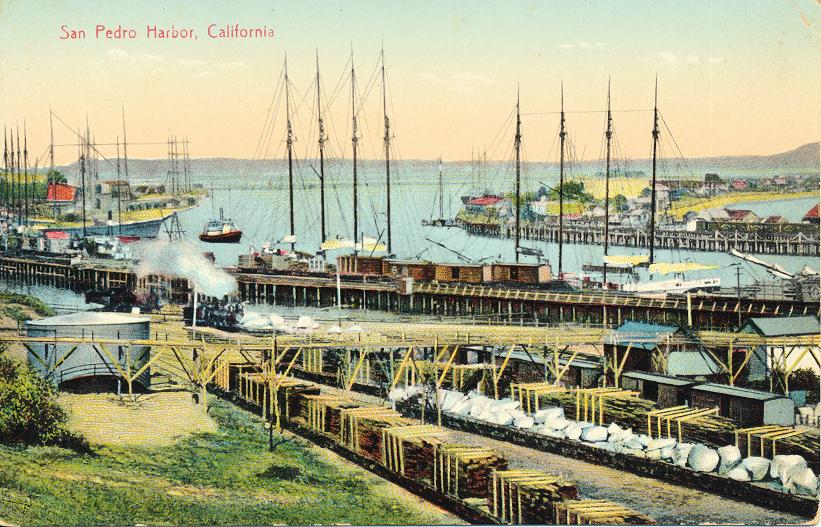 San Pedro Harbor, Cal.