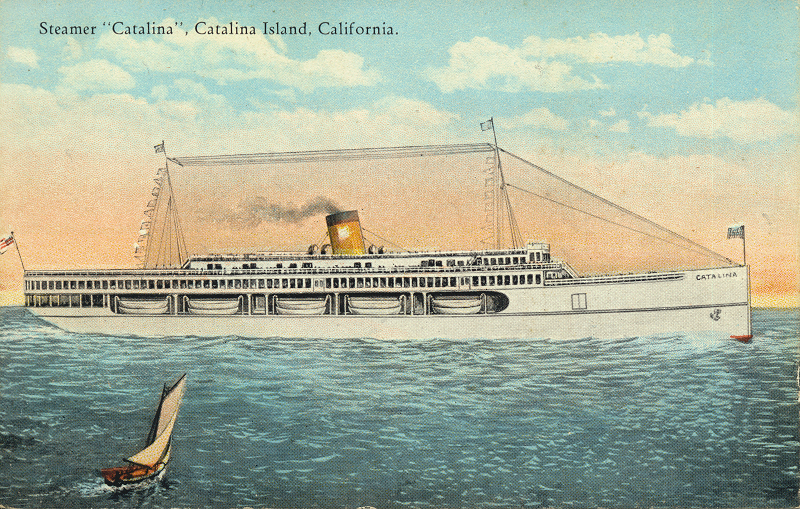 Steamer Catalina Catalina Island, California