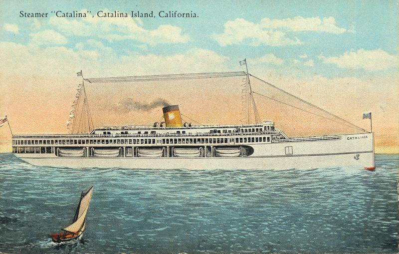Steamer Catalina Catalina Island, California