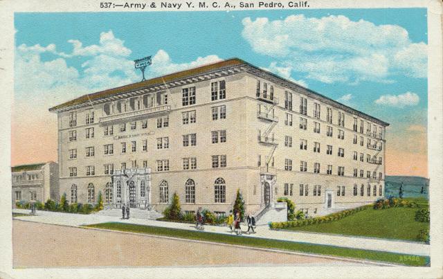 Army & Navy Y. M.C.A., San Pedro, Calif.