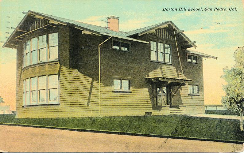 Barton Hill School, San Pedro, Cal.