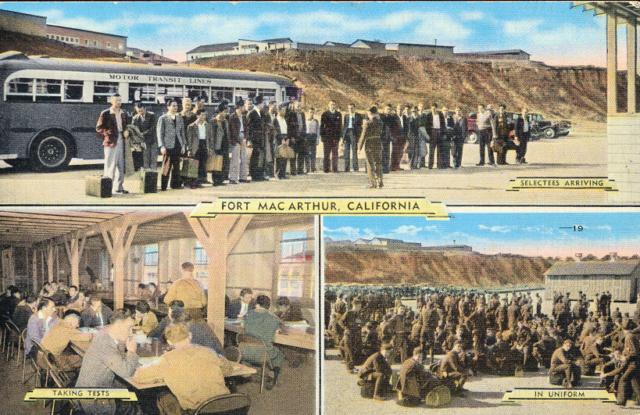 Fort Mac Arthur - Induction Center