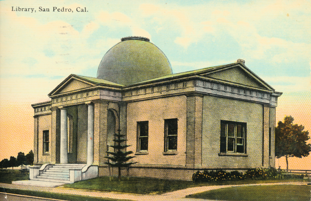 Library, San Pedro, Cal.
