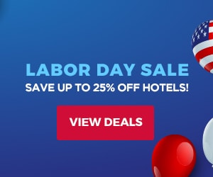 Labor Day Sale Save up to 24% off hotels View Deals